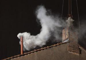 fumata blanca por Francisco I 13 marzo 2013