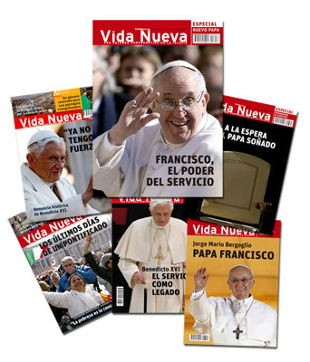 portadas Vida Nueva renuncia Benedicto XVI nuevo papa Francisco