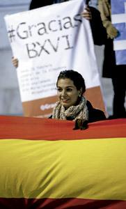 chica joven católica española