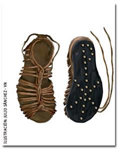 sandalias del pescador ilustración Julio Sánchez