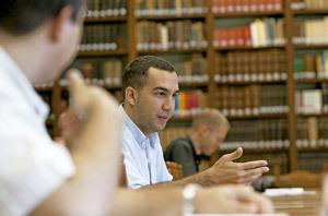 seminarista joven