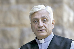 Antoine Audo, obispo caldeo de Aleppo Siria