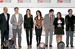 entrega premios Barco de Vapor y Gran Angular SM 2013