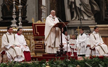 papa Francisco Homilía Jueves Santo 28 de marzo 2013