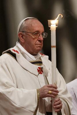 papa Francisco Vigilia Pascual Vaticano 30 marzo 2013