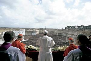 papa Francisco Domingo de Resurrección 2013 bendición Urbi et Orbi