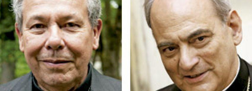 Octavio Ruiz Arenas y Marcelo Sánchez Sorondo miembros de la Curia