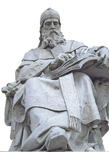 estatua de San Isidoro de León