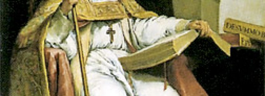 pintura de San Isidoro de León