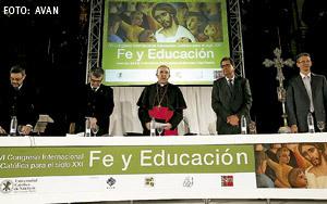 Carlos Osoro VI Congreso Internacional Educación Católica Valencia abril 2013