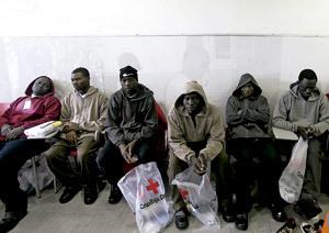 grupo de inmigrantes