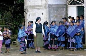 parroquia en Ixtapa, Chiapas, indígenas tzotziles