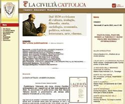 La Civiltà Cattolica, página web