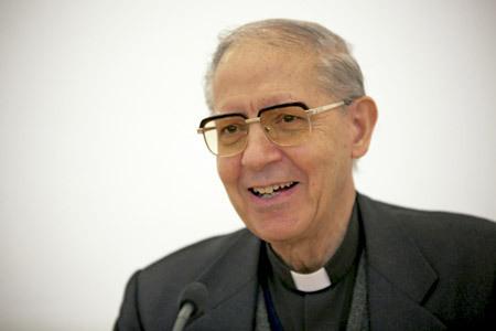 Adolfo Nicolás, prepósito general de la Compañía de Jesús y presidente de la USG