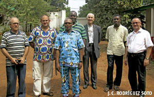salesianos luchan por mantener su acción pastoral y social en Bangui República Centroafricana
