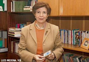 Camino Cañón, presidenta del Foro de Laicos