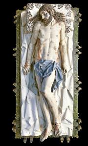 Cristo yacente, de Gregorio Fernández, expuesto en Credo Arévalo Las Edades del Hombre 2013