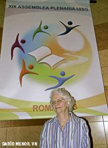 Florence Deacon, religiosa estadounidense presidenta de LCWR
