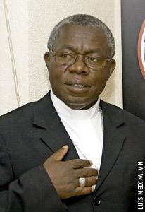 Francois Xavier Maroy Rusengo, arzobispo de Bukavu R.D. Congo