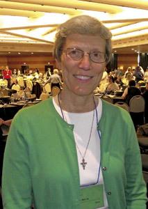 Mary Lou Wirtz, presidenta de la UISG