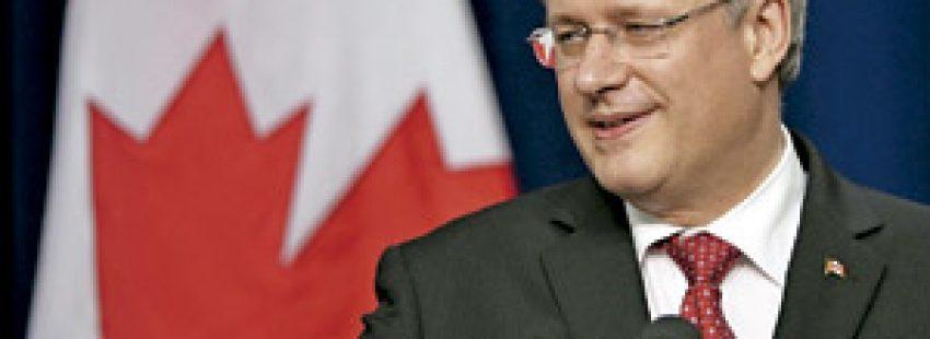 Stephen Harper, primer ministro de Canadá