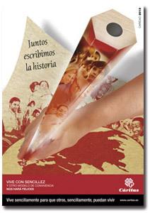 cartel de Cáritas para el Día de la Caridad 2013