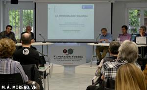 charla sobre desigualdad social Fundación Foessa y Economistas sin Fronteras