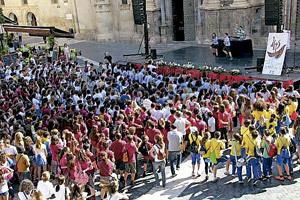 jóvenes de Murcia reivindican la clase de Religión