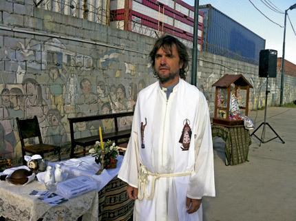 cura villero en villas miseria en Buenos Aires
