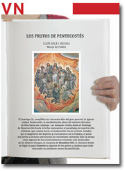 Vida Nueva Pliego Pentecostés 2013