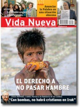 Vida Nueva Portada Contra el hambre mayo 2013 p
