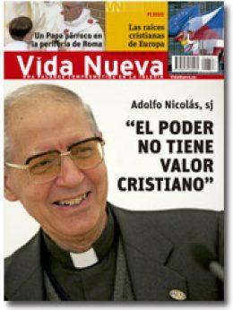 Portada de Vida Nueva n 2.850 entrevista a Adolfo Nicolás p