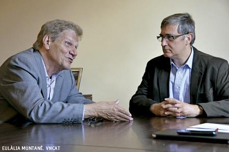 Salvador Busquets y Josep M. Cullell, economistas cristianos