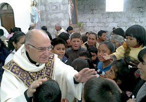 Julio Parrilla, obispo de Riobamba, Ecuador