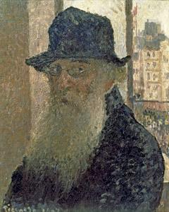 Autorretrato, Camille Pissarro exposición en el Thyssen