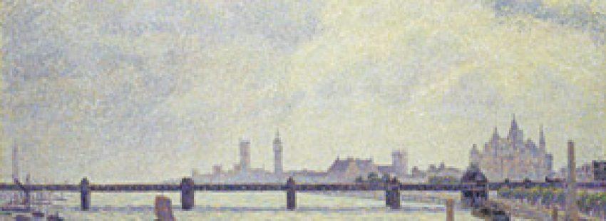 El puente de Charing Cross, Londres, Camille Pissarro exposición en el Thyssen