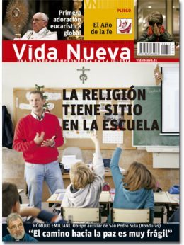 portada de Vida Nueva La Religión tiene su sitio en la escuela n 2.851 junio 2013 G