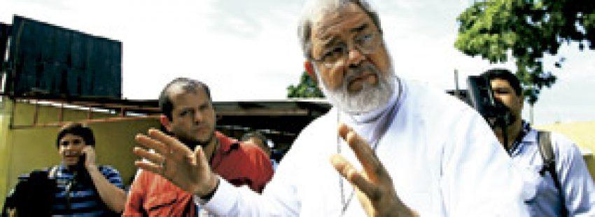 Rómulo Emiliani, obispo auxiliar de San Pedro Sula, Honduras