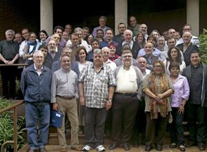 23 Jornadas Nacionales de Delegados de Migraciones 2013, foto de familia