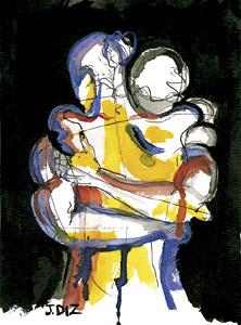 ilustración de Jaime Diz para artículo La eternidad en cada instante de Fernando García de Cortázar n 2853