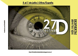 cartel del 27º Multifestival David 2013