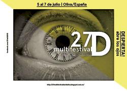 cartel del 27º Multifestival David 2013