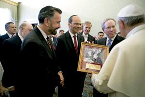 papa Francisco recibe al Comité Judío Internacional junio 2013