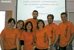 personas miembros de Prokarde, ONG de las Carmelitas Misioneras