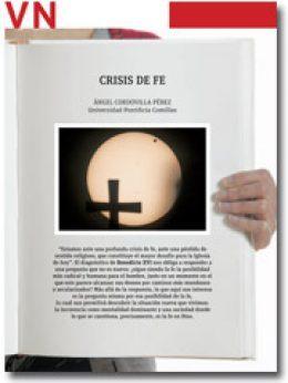 portadilla Pliego Vida Nueva Crisis de fe 2852 junio 2013
