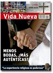 portada Vida Nueva Menos bodas católicas, ¿más auténticas? junio 2013 p