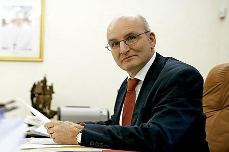 Erns von Freyberg, presidente del IOR