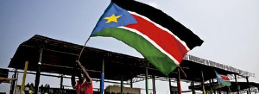 Sudán del Sur en 2012 celebra el primer año de su indepencia