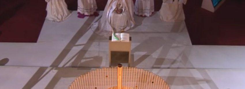 papa Francisco preside la vigilia de oración con los jóvenes Copacabana JMJ Río 2013