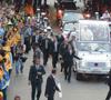 papa Francisco recorre las calles de Río entre fuertes medidas de seguridad 22 julio JMJ 2013